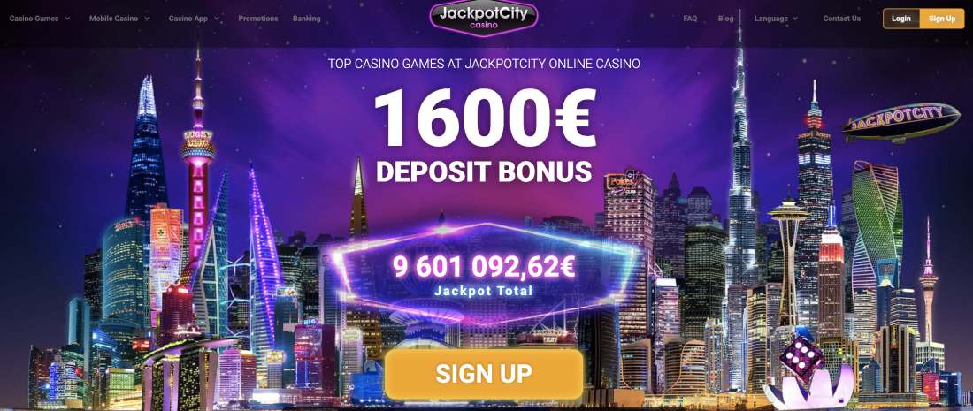 JACKPOT СITY CASINO REVIEW