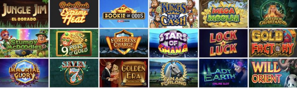 Betway Casino Games: slots and table